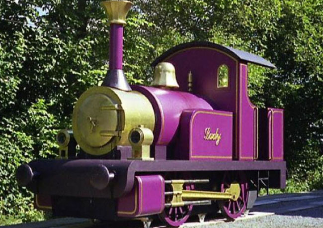 Help to restore the historic Thomas the Train prop - the Magic Lady