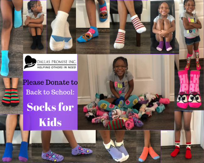 Socks For Kids (Back To School)