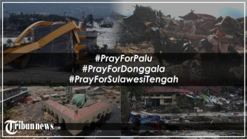 Earthquake And Tsunami Palu And Dongga