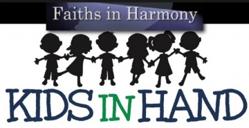 KIDS IN HAND WITH FAITHS IN HARMONY