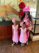 Adoptive Family Goes To Kentucky Derby