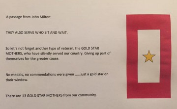 youhelp Remembering Our Gold Star Mothers
